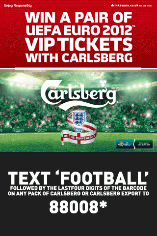 Carlsberg Text2Win